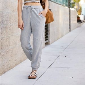 NWT Free People Roll With It Pant in Gray